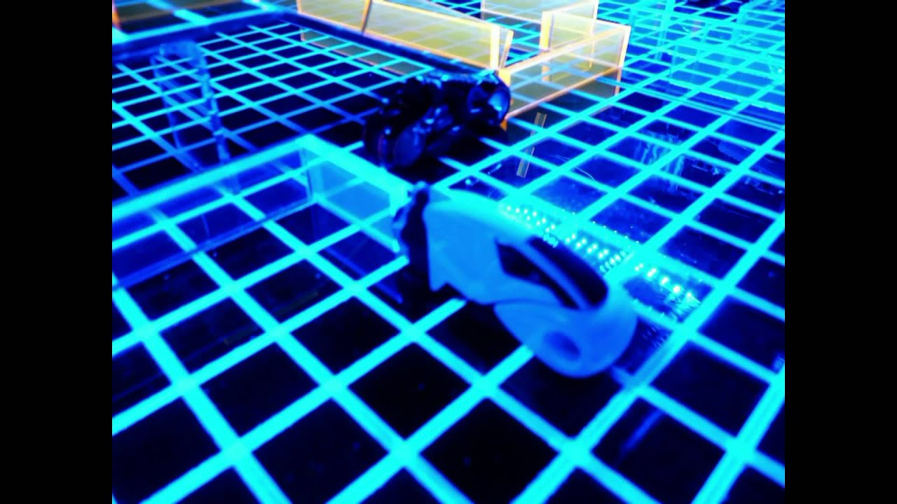 Custom Tron Light Cycles Board Game Glows With Brilliance