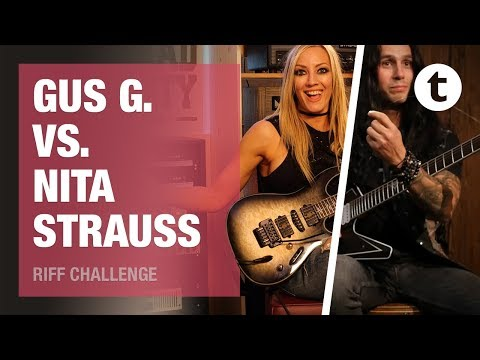 Gus G. vs. Nita Strauss | Thomann Riff Challenge | Episode 7