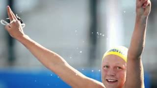 Swedish Swimmer Sarah Sjostrom - Team Arena. Presented by ProSwimwear