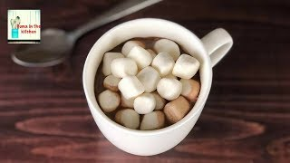 Homemade Hot Chocolate Recipe – by (HUMA IN THE KITCHEN)