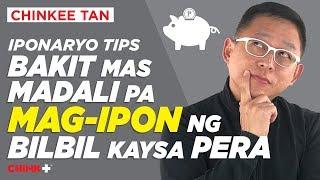 Iponaryo Tips: Bakit Mas Madali MAG IPON Ng Bilbil Kaysa Pera?