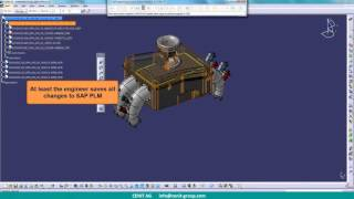 SAP Engineering Control Center Interface für Catia V5
