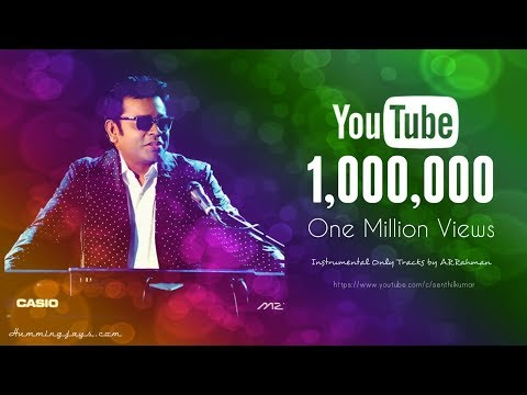 Instruments Only tracks by A.R.Rahman | Best Instrumentals & Theme Music | Hummingjays.com