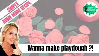 3 ingredient play-dough recipe