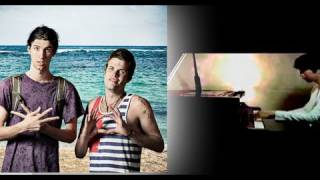 Touchin On My - 3OH!3 (Music Video) - Yoonha Hwang Piano Cover with lyrics (Official) - 3OH3