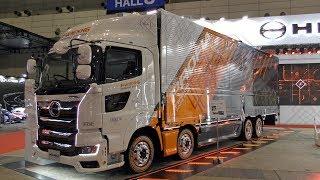 [4K/UHD] Japanese Truck (HINO Truck) Japan's Truck