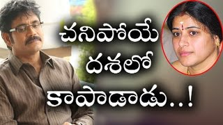 hero nagarjuna save actress sudhas life when she was in risk