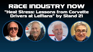 """Heat Stress: Lessons from Drivers at LeMans"""" by Stand 21"""