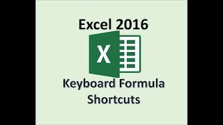 Microsoft Excel 2016 - Enter Formulas Using the Keyboard