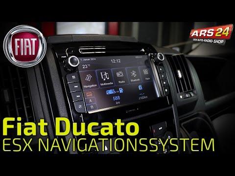 Navigation nachrüsten im Fiat Ducato -TUTORIAL- ESX VNC720