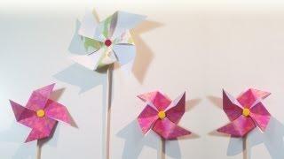 HD/TUTO:Moulinàvent,deuxfaçonsdefaire-Windmill,twowaystodo