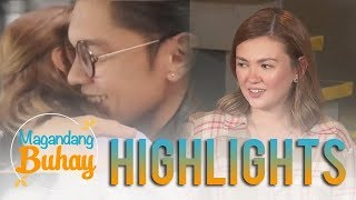 Magandang Buhay: Angelica shares that she is happy with Carlo Aquino
