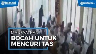 Manfaatkan Anak-anak, Seorang Pria Curi Tas Jemaah di Masjid Tebet Jakarta Selatan