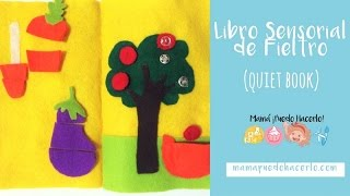 Libro Sensorial de Fieltro | Quiet Book