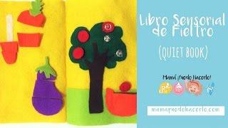 Libro Sensorial de Fieltro | Quiet Book