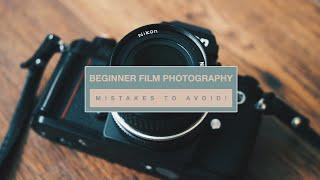 Beginner Film Photography MISTAKES To Avoid!