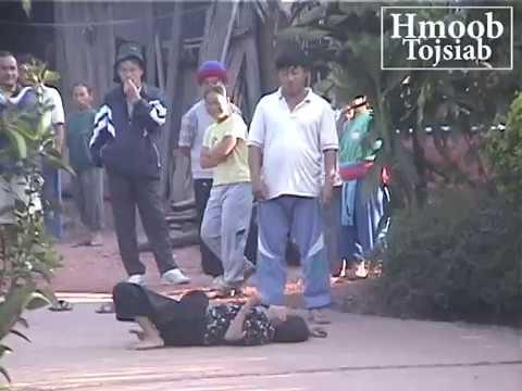 Poj niam hmoob raug dab... (demon possess hmong woman)