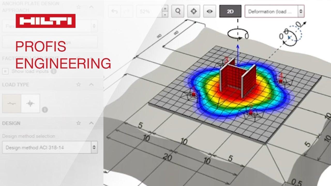 Profis Engineering Suite Replaces Profis Anchor Hilti Usa