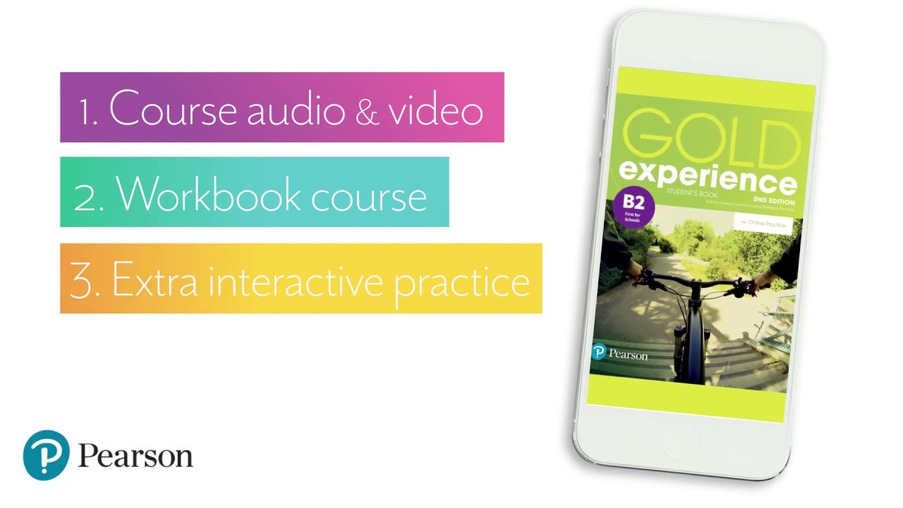Pearson Practice App for Gold Experience 2nd edition