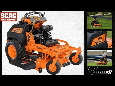 2019 SCAG Power Equipment V-Ride II 36 in. 19 hp Kawasaki Zero Turn Mower in South Hutchinson, Kansas - Video 1