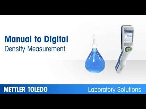 Manual to Digital Density Measurement