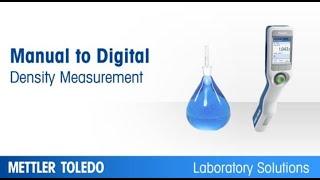 Manual to Digital Density Measurement