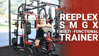 Reeplex SMGX Multi-Functional Trainer Exercise Video - Dynamo Fitness Equipment