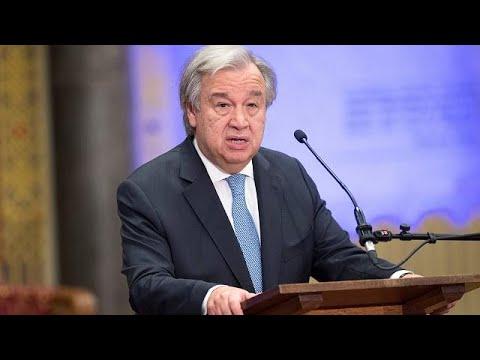 «Κόκκινος συναγερμός» από τον γγ του ΟΗΕ για τα πολλαπλά ανοιχτά μέτωπα …