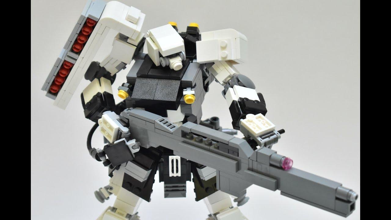Lego Gundam MOC Showcase - Geara Zulu Mineva Faction Type