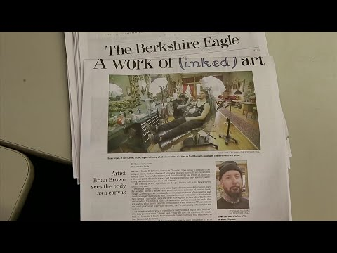 """Waves of layoffs continuing to hit both traditional newspaper chains and digital news startups. Cities and towns so denuded of coverage that they're described as """"news deserts ."""" But then, there's The Berkshire Eagle. (June 19)"""