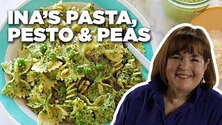 Ina Gartens 5-Star Pasta, Pesto And Peas Recipe   Food Network