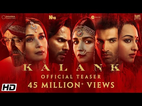 Kalank - Movie Trailer Image