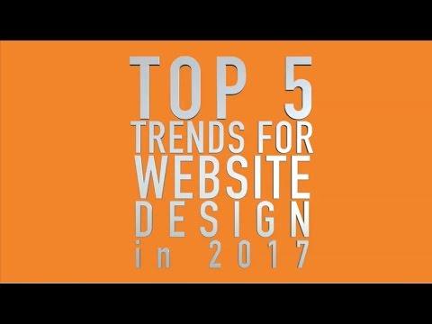 Top 5 Trends for Website Design in 2017-(561) 822-9931