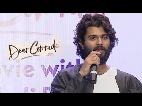 Vijay Deverakonda at Dear Comrade Interview At AMB Cinemas