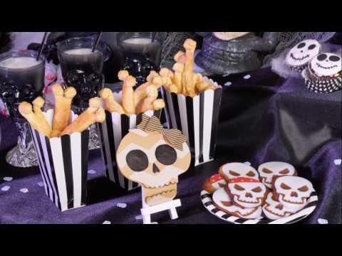 Receita de Halloween : Ossos com massa folhada