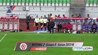 FC Annecy / FC Villefranche Beaujolais (2-3) - Résumé - 17/18