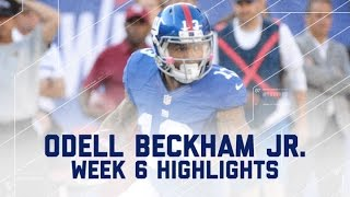 Odell Beckham Jr. Goes Off for Career-High 222 Yards! | Ravens vs. Giants | NFL Player Highlights
