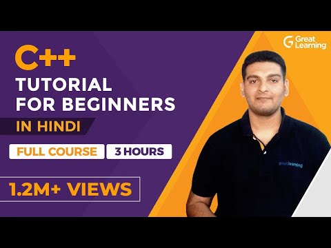C++ Tutorial For Beginners in Hindi | C++ Programming | C++ Full Course | Great Learning