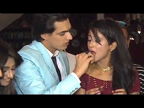Shivangi Joshi BIRTHDAY celebration on Yeh Rishta Kya Kehlata Hai SETS