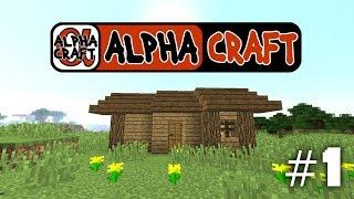 "Minecraft On Alphacraft Survival NEW LET""S PLAY SERIE Ep1"