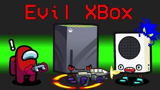 NEW Among Us EVIL XBOX ROLE?! (Minigame Mod)