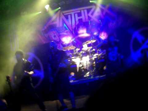 Concierto Anthrax