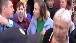 Выселение жителей из аварийного жилья в г. Альметьевск.