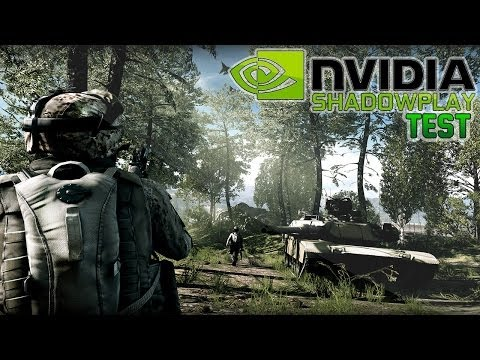NVIDIA ShadowPlay Quality Test on Battlefield 3 [FullHD/English]
