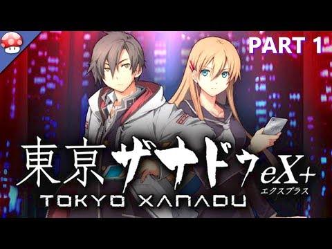 Gameplay de Tokyo Xanadu eX+