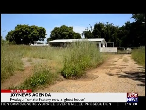 Pwalugu Tomato Factory now a 'ghost house' - The Pulse on JoyNews (16-10-18)