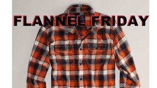 Flannel Friday Announcement
