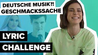 Lena Erkennt Wincent Weiss Nicht?! 😱 | Digster Pop Lyric Challenge