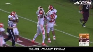 Clemson vs Virginia Tech College Football Condensed Game 2017