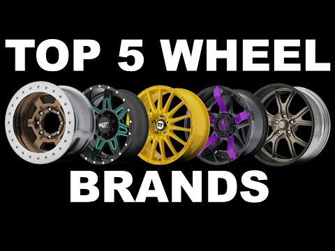 TOP 5 WHEEL BRANDS (MOST FAMOUS)